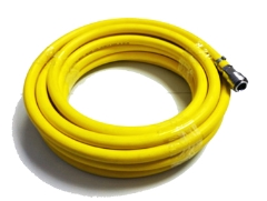 Anest Iwata Air Fed AFBH10 Breathing Hose w/ Fittings - 10M