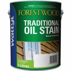 Wattyl® Forestwood Traditional Oil Stain: Charcoal - 5L
