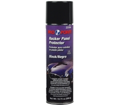 Pro Form Paintable Rocker Panel Protector: Black - Aerosol