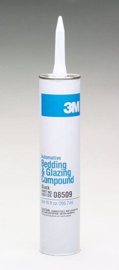 3M™ 8509 Auto Bedding and Glazing Compound - Black