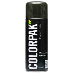 ColorPak Colour Steel Lacquer: Ironsand - Aerosol