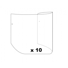 DeVilbiss ProViSOR Tear Off Visors - 10 Pack